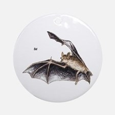 Bat for Bat Lovers Ornament (Round)