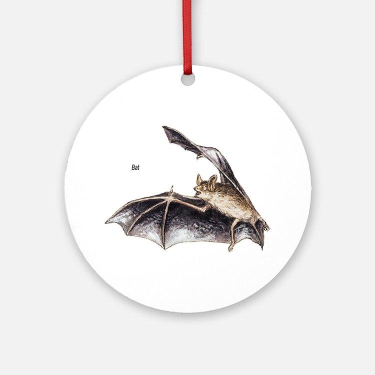 Bat for Bat Lovers Ornament (Round)