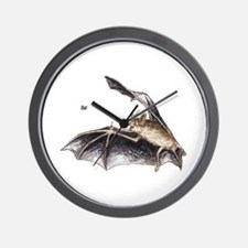 Bat for Bat Lovers Wall Clock