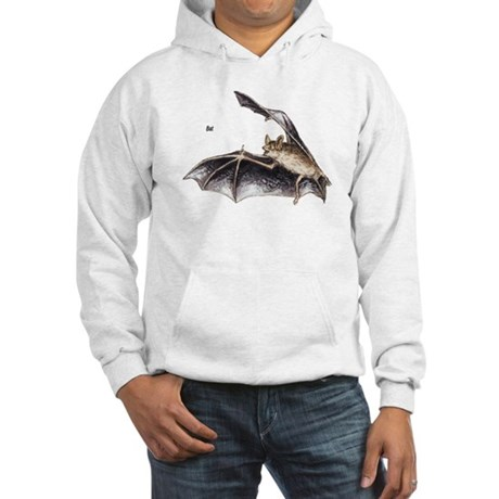 Bat for Bat Lovers Hooded Sweatshirt