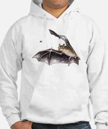 Bat for Bat Lovers (Front) Hoodie