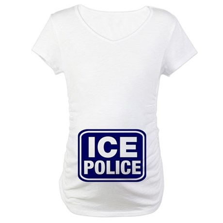 ICE Police Maternity T-Shirt