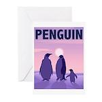 Penguin Family Greeting Cards (Pk of 20)