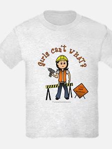 Light Construction Worker T-Shirt
