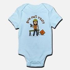 Light Construction Worker Infant Bodysuit