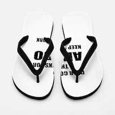 Dear God Thanks For Aikido Flip Flops