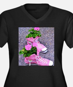Bloom where you are planted Plus Size T-Shirt