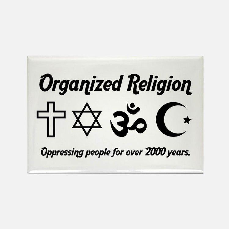 Organized Religion Rectangle Magnet