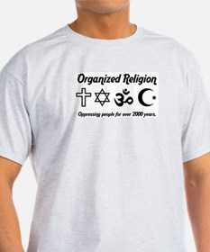 Organized Religion Ash Grey T-Shirt