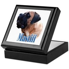 Mastiff(apricot)Name Keepsake Box