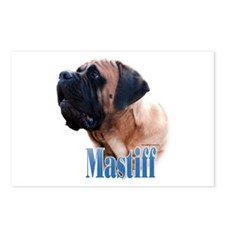 Mastiff(apricot)Name Postcards (Package of 8)