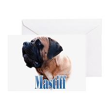 Mastiff(apricot)Name Greeting Card