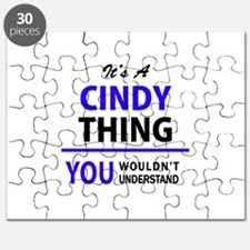It's CINDY thing, you wouldn't understand Puzzle