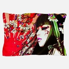 Geisha Pillow Case