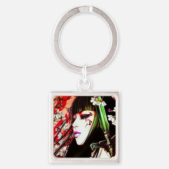 Geisha Keychains