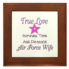 True love survives Framed Tile