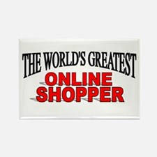 """""""The World's Greatest Online Shopper"""" Rectangle Ma"""