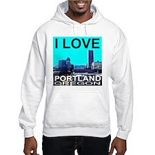 I Love Portland, Oregon Hoodie