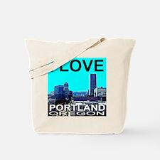 I Love Portland, Oregon Tote Bag