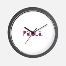 Paola Wall Clock