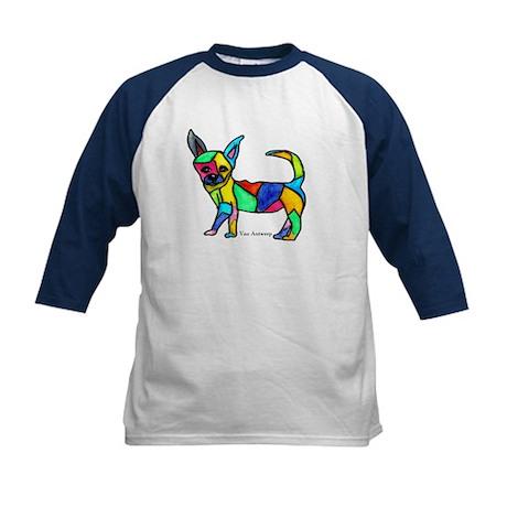 """""""Chihuahua"""" Kids Baseball Jersey"""