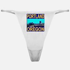 Portland, Oregon Classic Thong