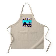 Portland, Oregon BBQ Apron