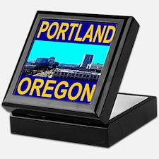 Portland, Oregon Keepsake Box