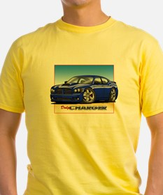 Blue Dodge Charger T-Shirt