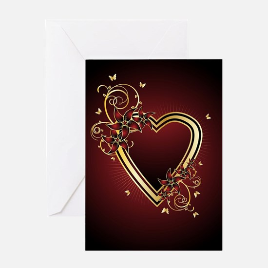 Classic Heart Greeting Card