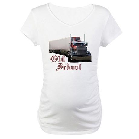 Old School Maternity T-Shirt