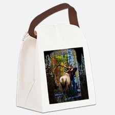 Trophy bull elk Canvas Lunch Bag