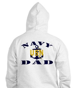 NAVY DAD Jumper Hoody