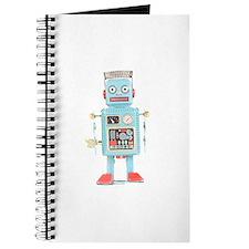 Classic Tin Robot Journal