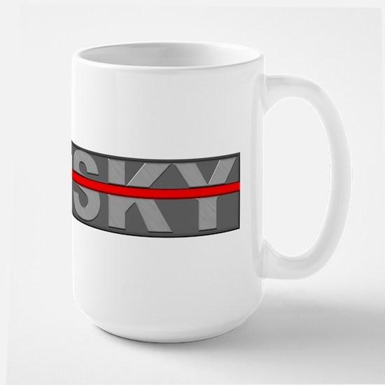 Sky Redline Mug (small) Mugs