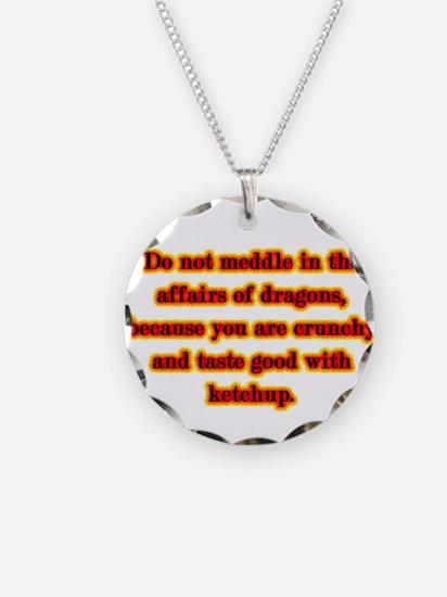 Dragon Warning Necklace