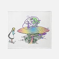 Magic Mushroom Throw Blanket