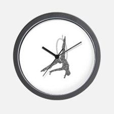 Aerial Hoop Wall Clock
