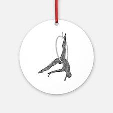 Aerial Hoop Ornament (Round)