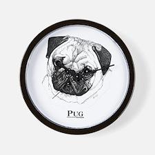 Pug Dog Breed Wall Clock
