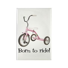 Born to Ride Tricycle Rectangle Magnet