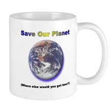 The Only Planet with Beer! Mug