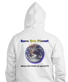 The Only Planet with Beer! Hoodie