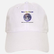 The Only Planet with Beer! Baseball Baseball Cap