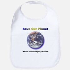 The Only Planet with Beer! Bib