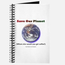 The Only Planet with Coffee! Journal