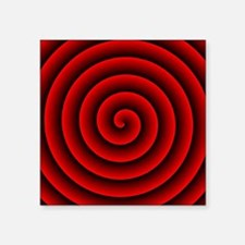 """Unique Archimedean Square Sticker 3"""" x 3"""""""