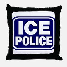 ICE Police Throw Pillow