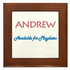 Andrew - Available for Playda Framed Tile