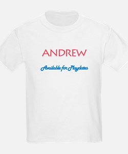 Andrew - Available for Playda T-Shirt